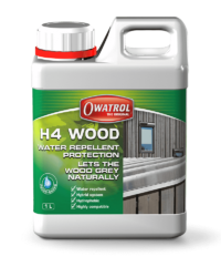 H4 Wood, waterproof wood sealer