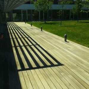 Antislip in Clear on a deck