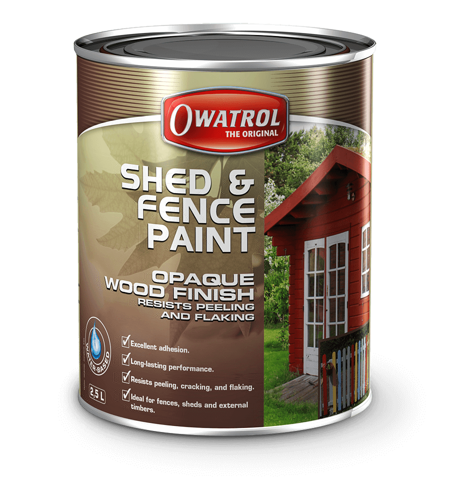 How to paint a wooden fence for a long time cheap