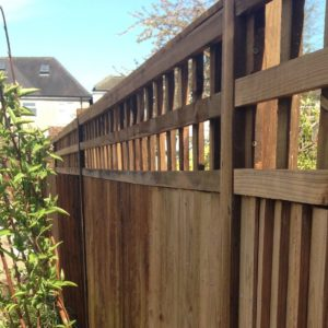protect a redwood spruce fence