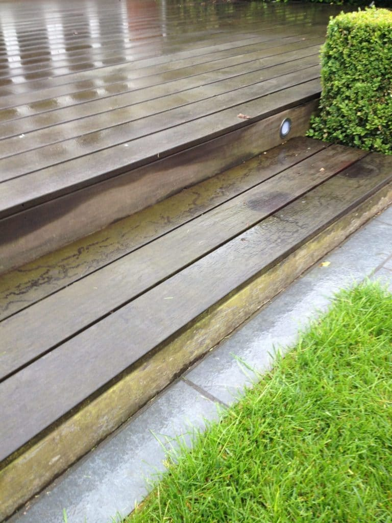 IPE Decking Before Stripping