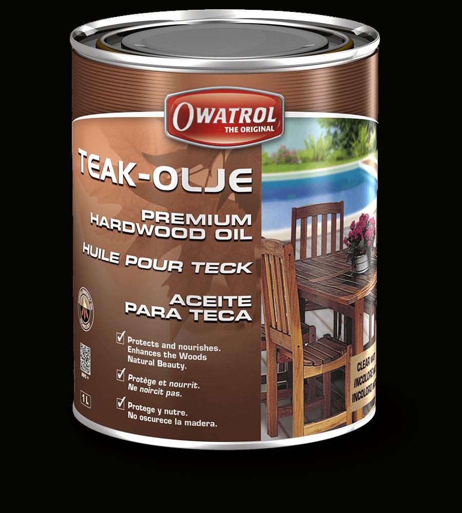 Teak Olje Premium Hardwood Oil Owatrol Direct