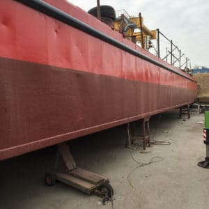 Marine CIP on boat body work