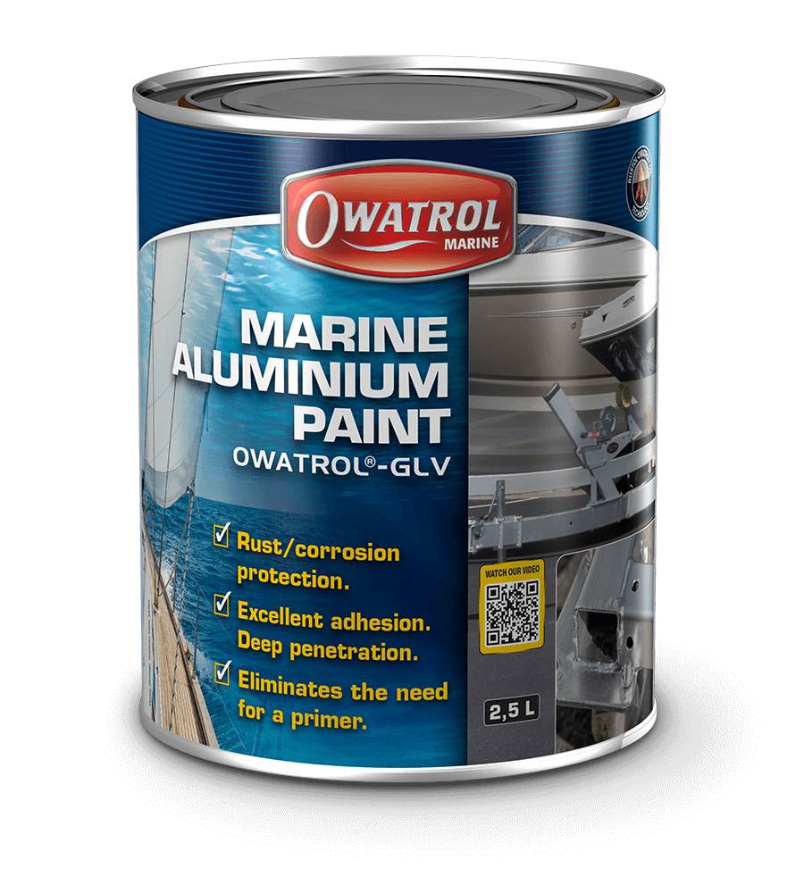 Owatrol GLV Aluminium paint