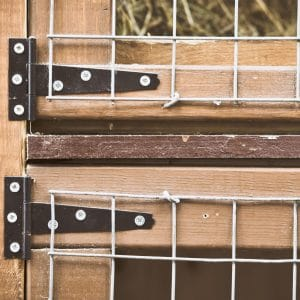 Maintain your rabbit hutch with wood protection products