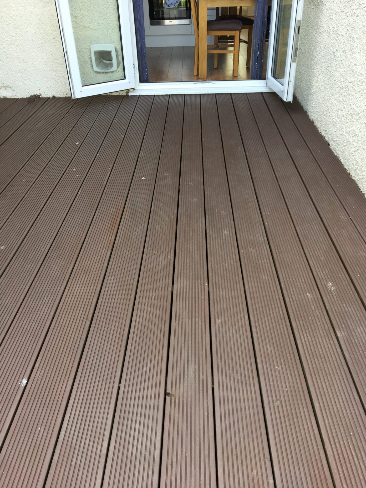 Decking 3 years after application