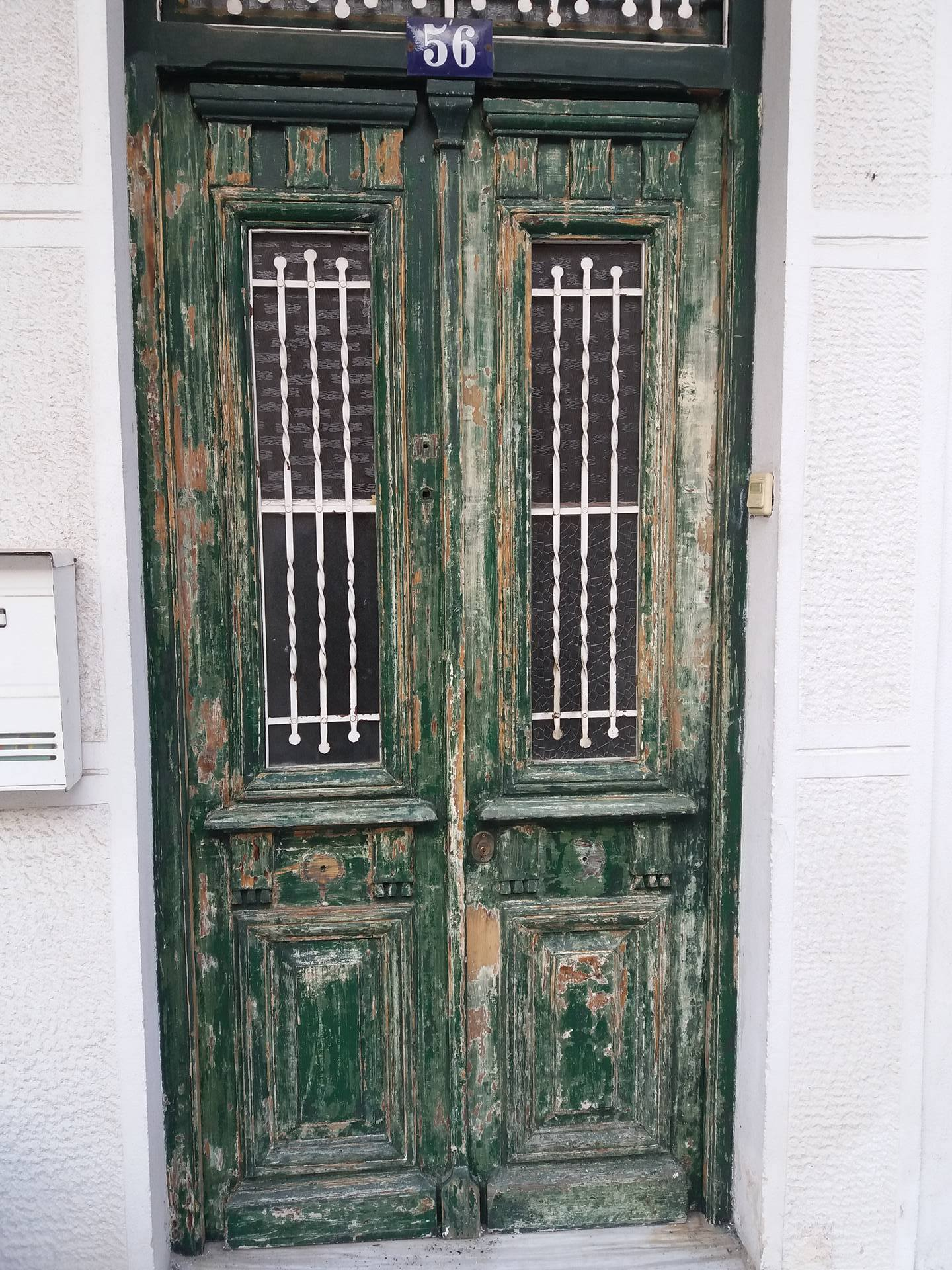 Damaged Wooden Front Door Rescued With Scs Owatrol Direct
