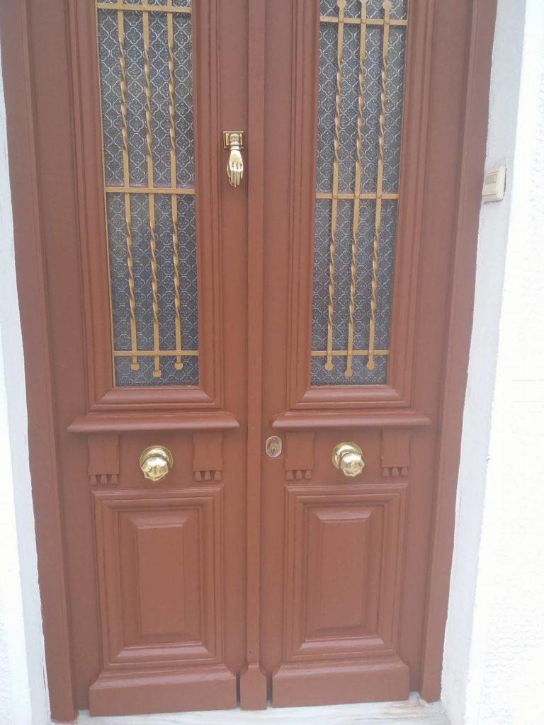 Door finished with Owatrol SCS