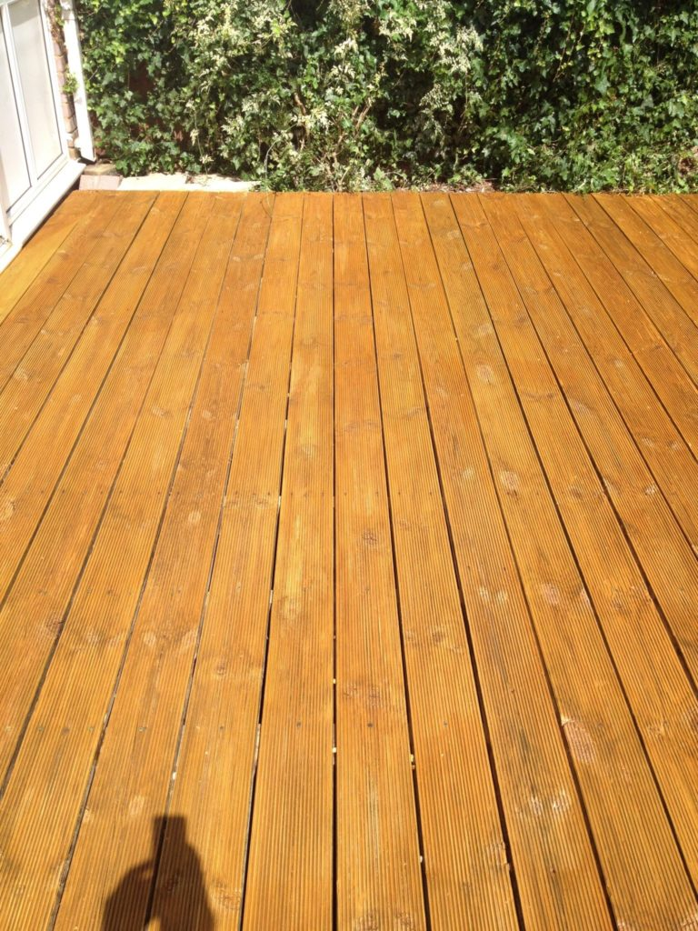 Reeded decking after Aquadecks