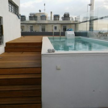 Rescuing a poolside deck - finished with Aquadecks