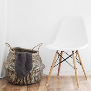 restore your Eames shell chairs - A white Eames chair