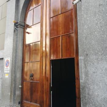 Italian doors finished with Deks Olje D1 & D2
