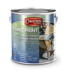 Tin of Decking Paint