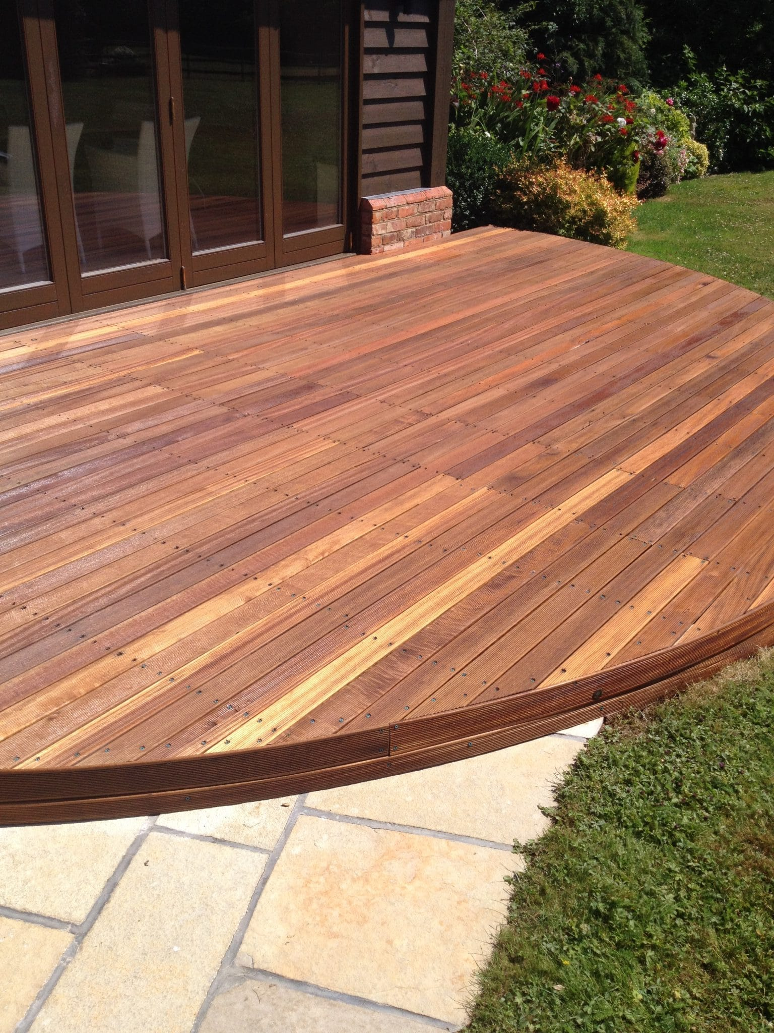 Balau Decking Restored Thanks To Owatrol Owatrol Direct