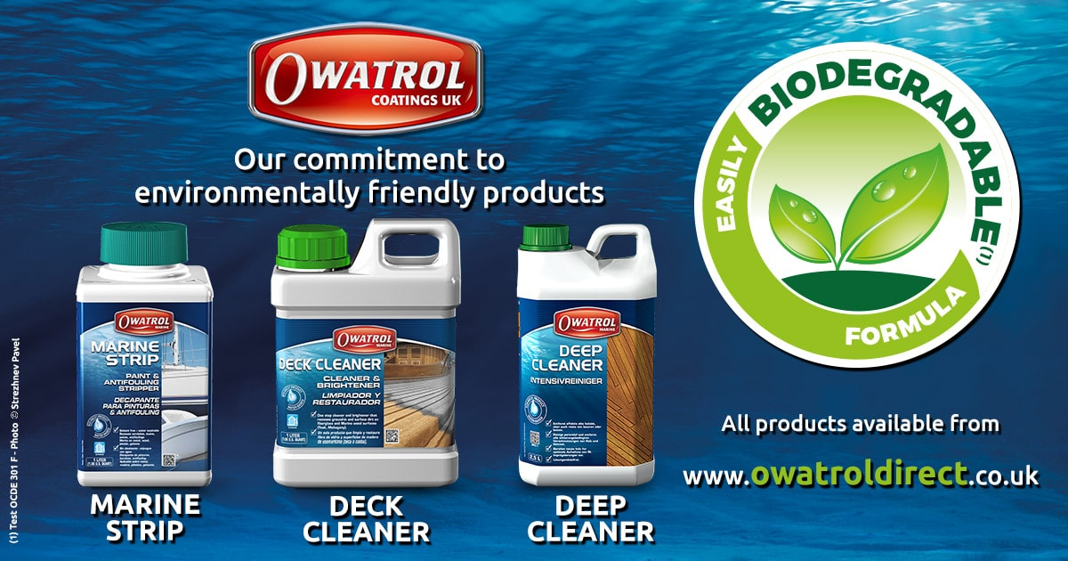 Eco friendly marine care products from Owatrol