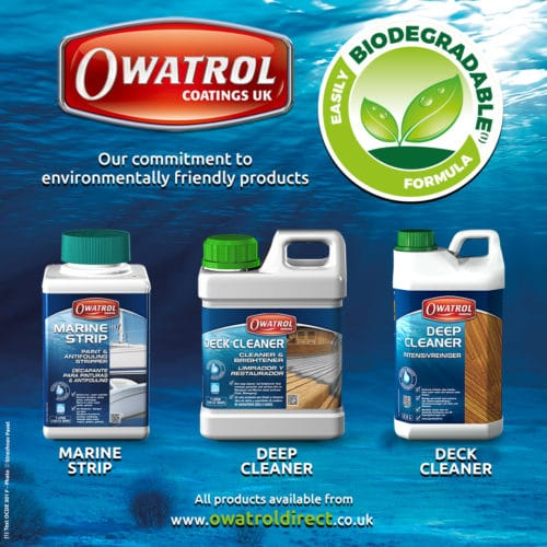 Owatrol's eco friendly marine care products