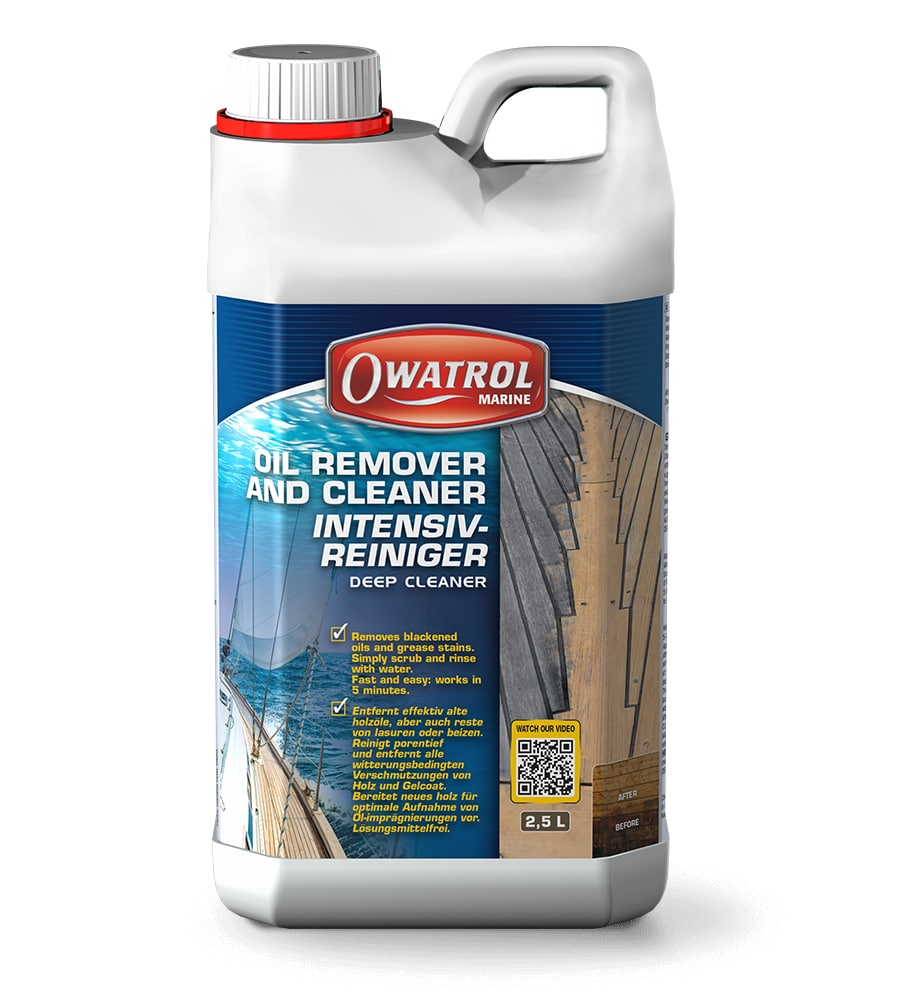 Owatrol Deep Cleaner - Clean deck