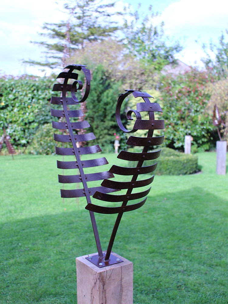 Owatrol Oil used to finish garden sculptures
