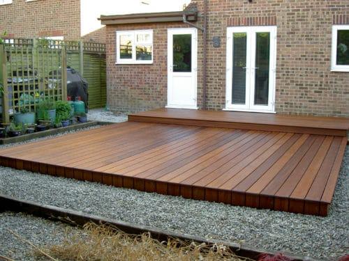 Deks Olje D1 applied to a garden deck