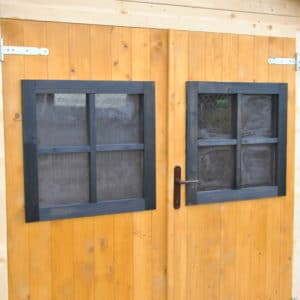 Aquadecks applied to garage door
