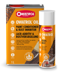 Owatrol Oil 1L With 300ml Spray Can