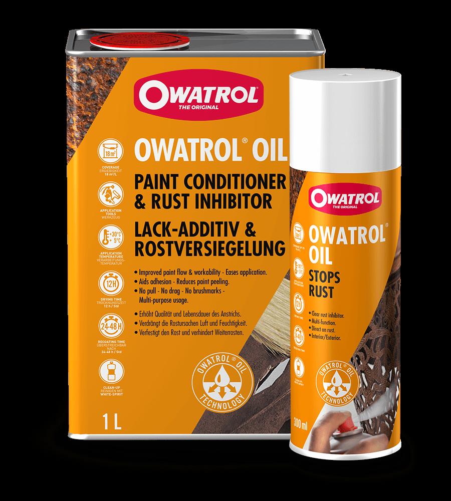 Owatrol Oil 1L With 300ml Spray Can