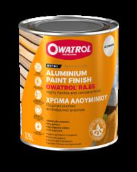 RA85 Aluminium Paint packaging