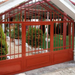 CIP used on metal gates