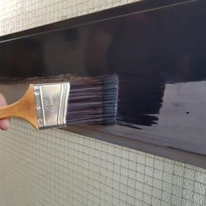 Owatrol Deco applied to metal door