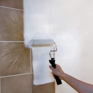 Owatrol Deco applied to tiles