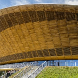 Textrol applied to London 2012 Olympics velodrome