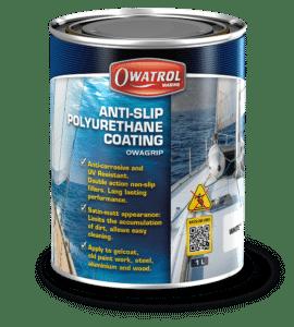 Owagrip antislip decking paint