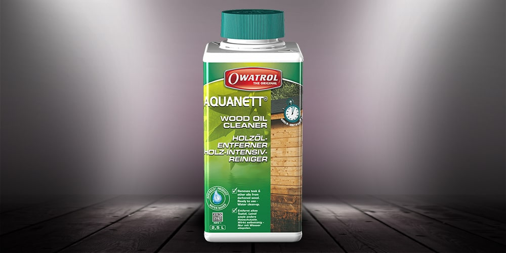 Aquanett wood oil cleaner