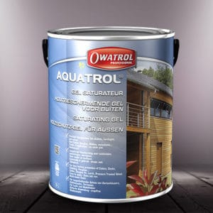 Aquatrol water-based finish