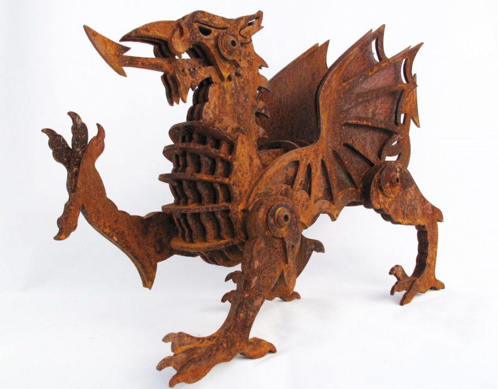 Black Sheep Steel Uses Owatrol Oil On Sculptures Owatrol