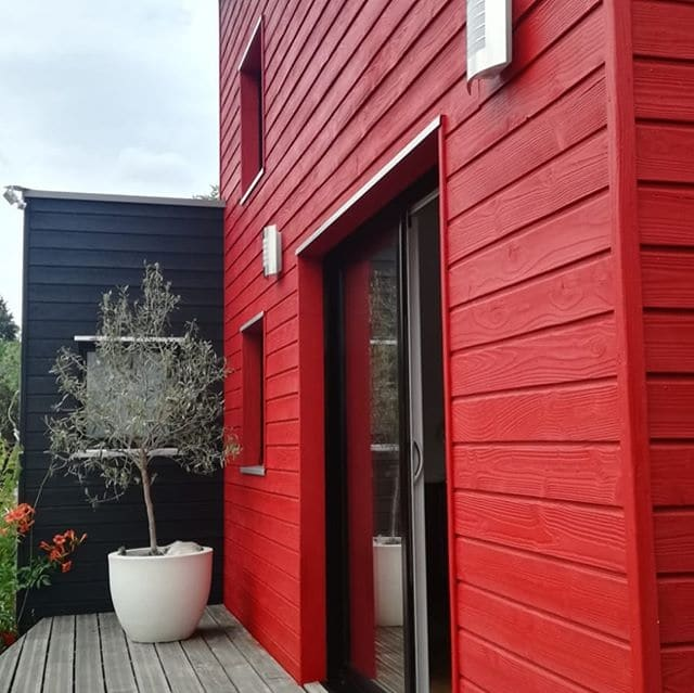 Owatrol SCS used on exterior cladding