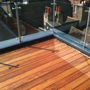 Textrol HES applied to balcony floor