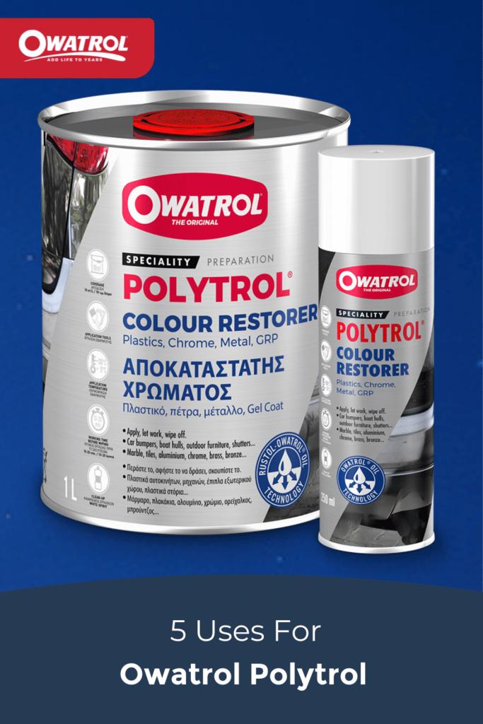5 uses for Polytrol - Pinterest