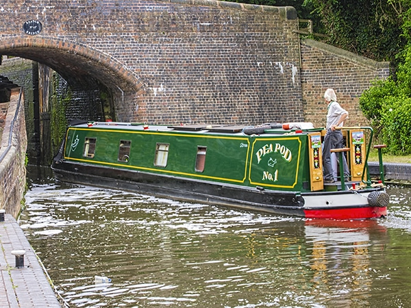 Use Polytrol on the body work of your narrow boat