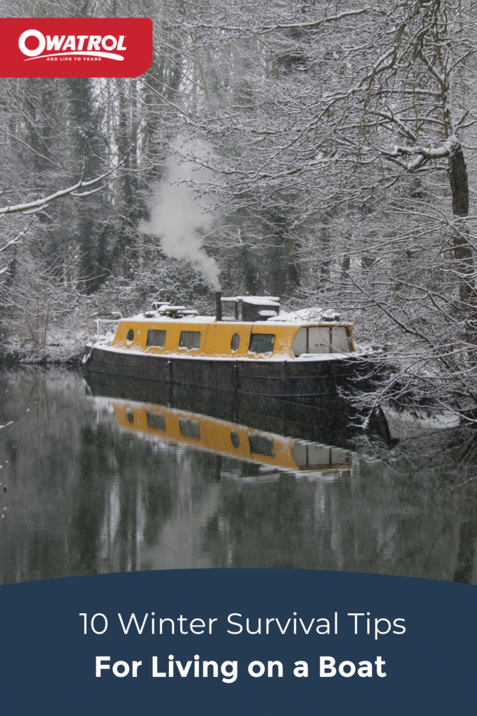 10 winter survival tips for living on a boat - Pinterest