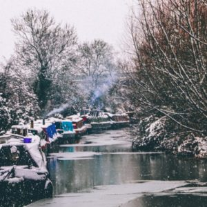 winter tips for living on a boat