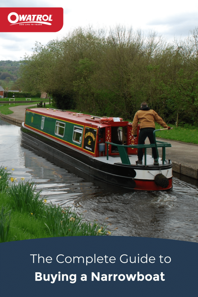 complete guide to buying a narrowboat - Pinterest