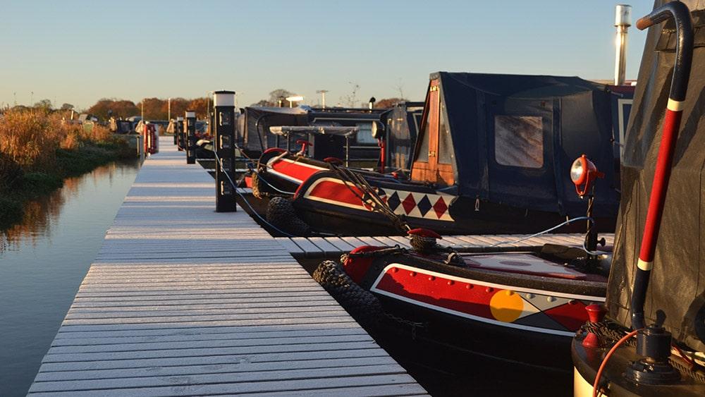 Winterproofing narrowboat