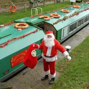 Christmas on the waterways