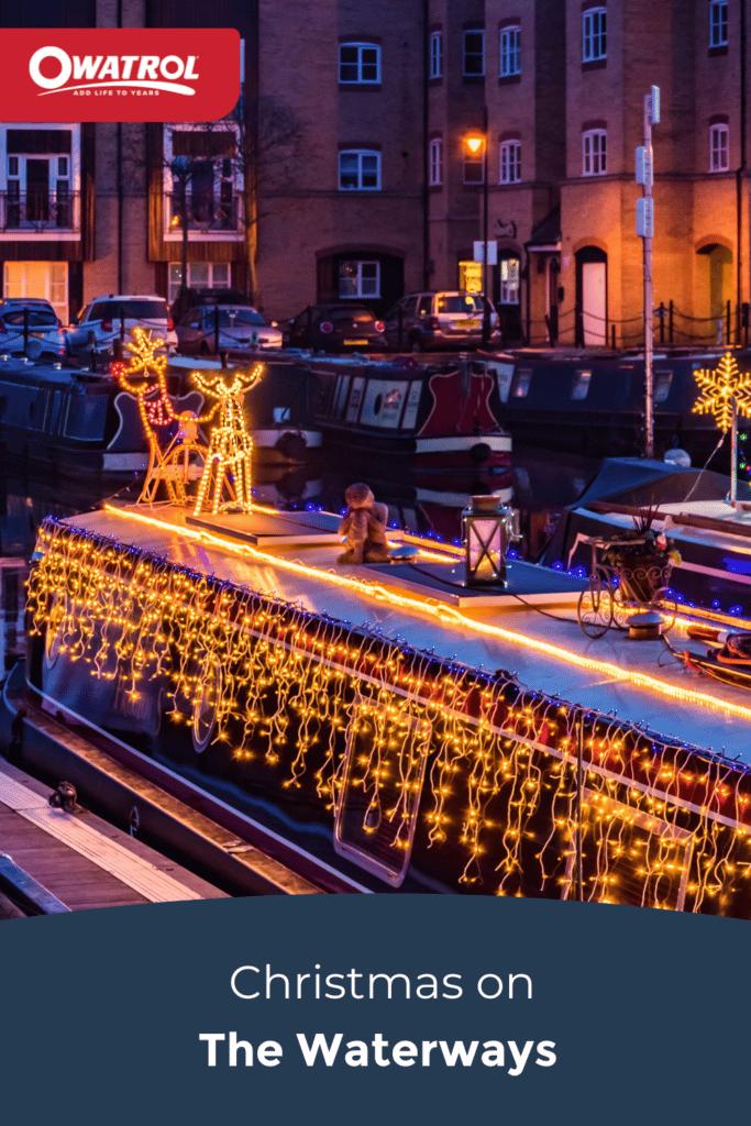 Christmas on the waterways - Pinterest