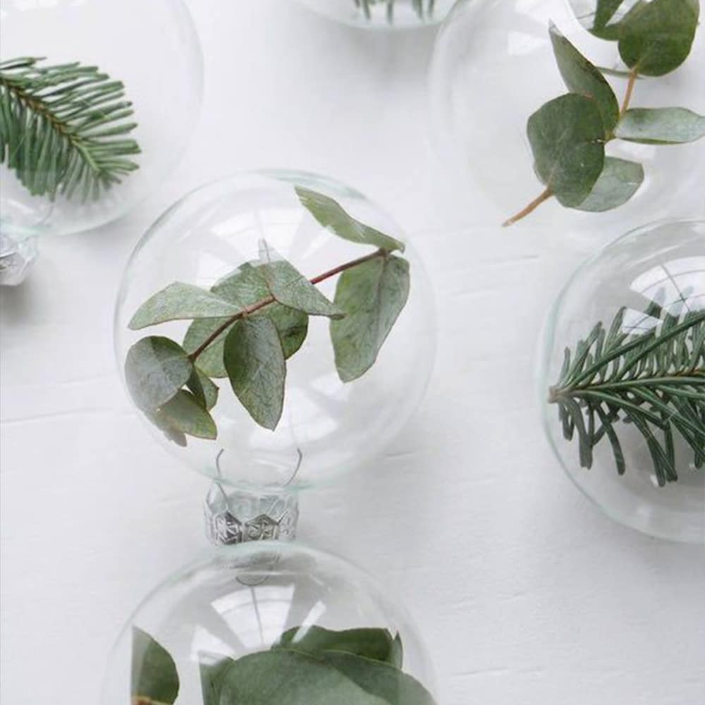 Modern Christmas DIY Bauble