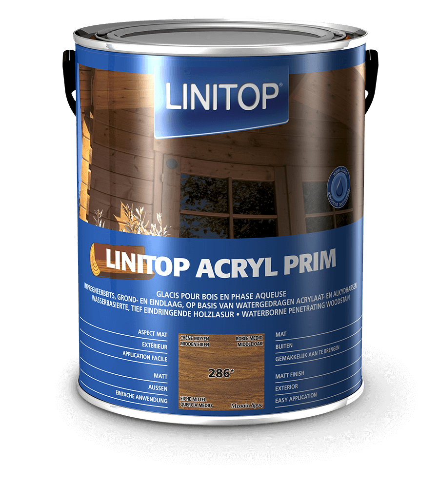 Linitop Acryl Prim Packaging