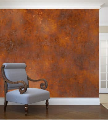 Rust Spirit applied to a feature wall