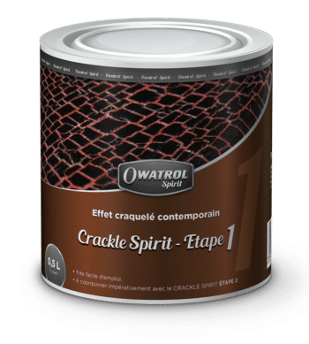 Crackle Spirit Step 1 Owatrol Spirit range