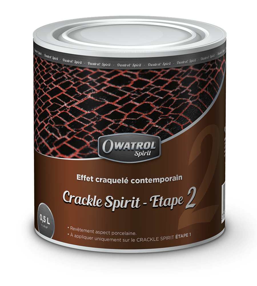 Crackle Spirit Step 2 Owatrol Spirit range